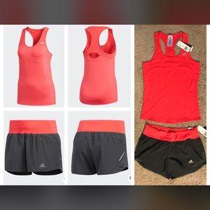 Women's adidas Climalite Running set - NWT!